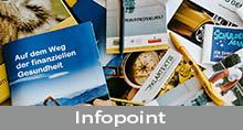 Button mit Verlinkung zur Unterseite Infopoint