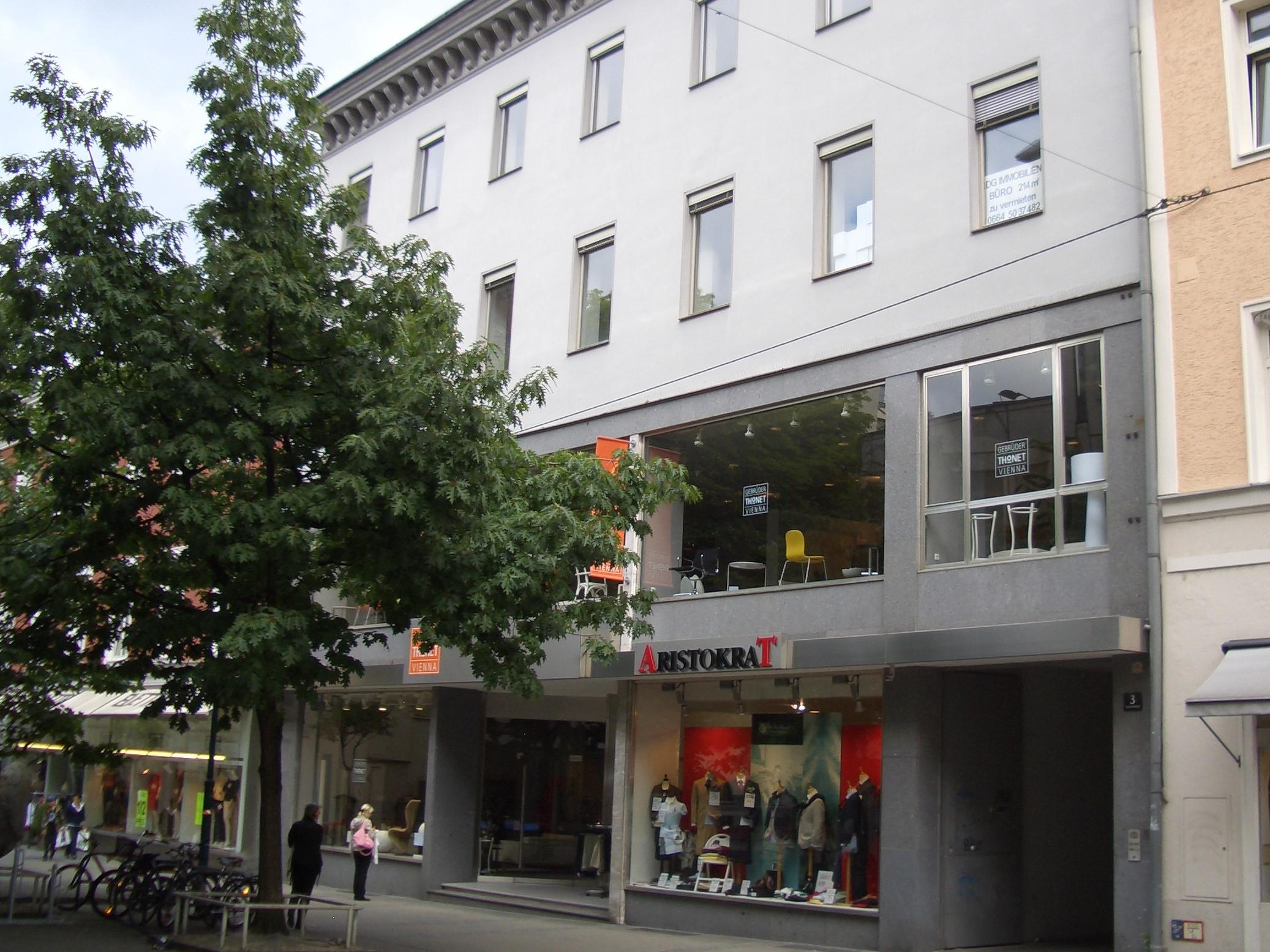 Gebäudeansicht der Regionalstelle Linz als Bild