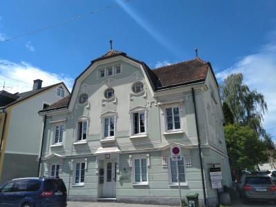 Gebäudeansicht der Regionalstelle Ried als Bild