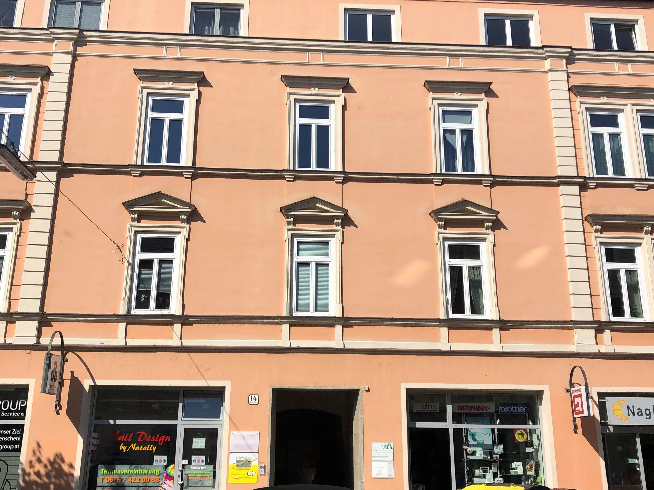 Gebäudeansicht der Regionalstelle Steyr als Bild