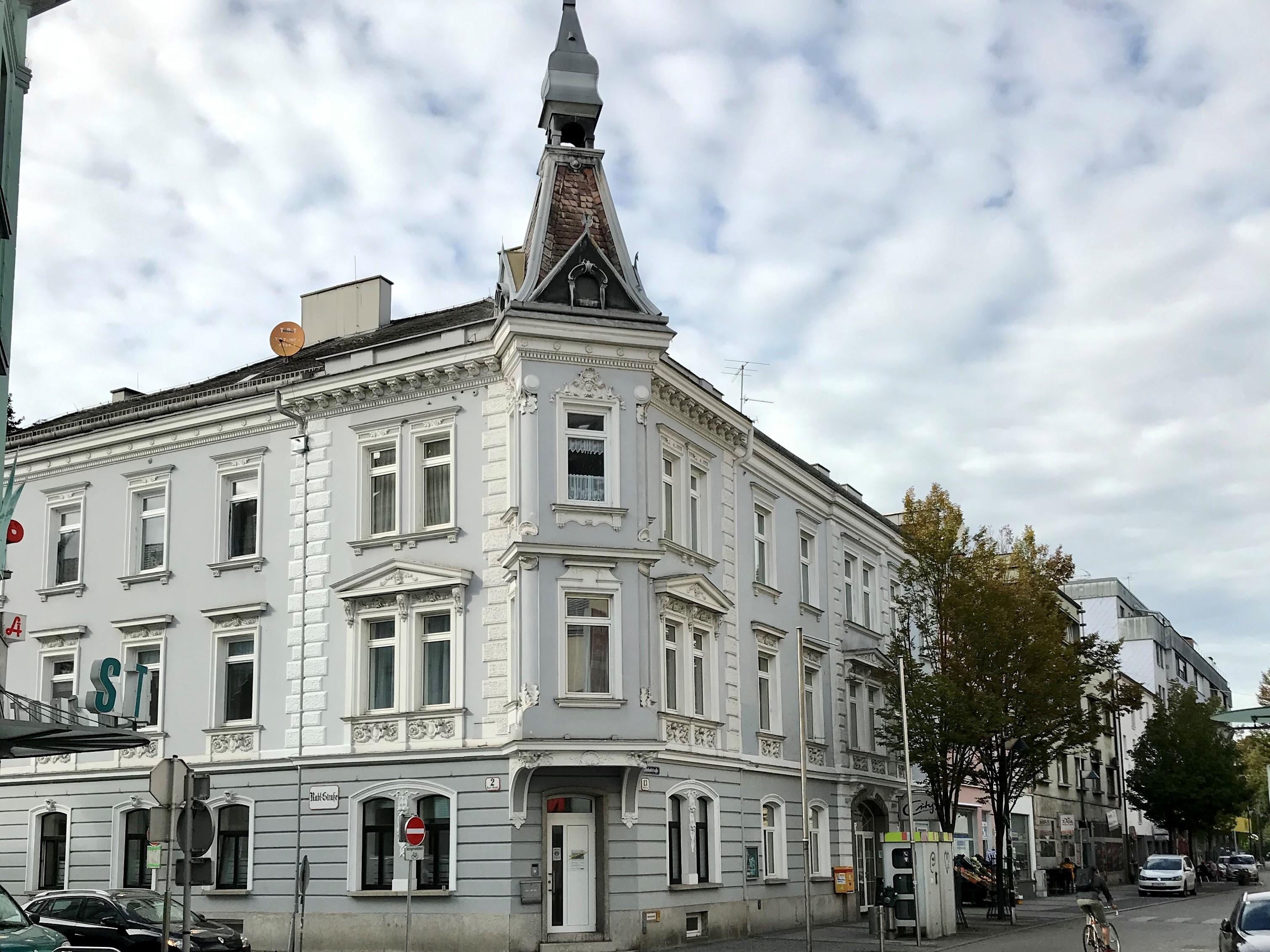 Gebäudeansicht der Regionalstelle Wels als Bild